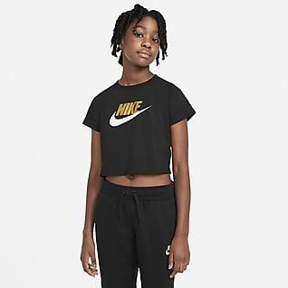 Nike Sportswear T-Shirt σε πιο κοντό μήκος για μεγάλα κορίτσια
