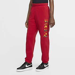 Nike Sportswear Joggers de tejido Fleece de relanzamiento para hombre