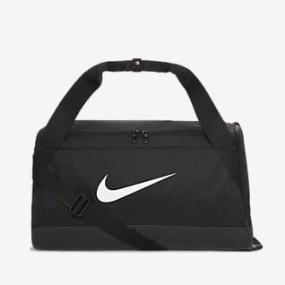 Nike Brasilia Bolsa de lona de entrenamiento estampada (pequeña)