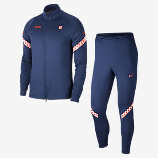 Croatia Strike Men's Football Tracksuit