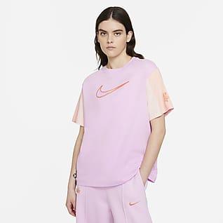 Nike Sportswear Essential Kurzarm-Oberteil für Damen