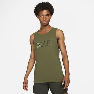 Nike Dri-FIT Camiseta de tirantes de entrenamiento estampada para hombre