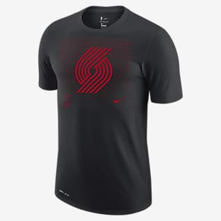 Portland Trail Blazers Logo Grid Men's Nike Dri-FIT NBA T-Shirt