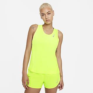 Nike Dri-FIT Race Γυναικεία φανέλα για τρέξιμο