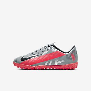 Nike Jr. Mercurial Vapor 13 Academy TF Chaussure de football pour surface synthétique pour Jeune enfant/Enfant plus âgé