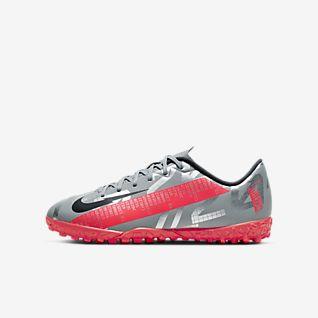 Nike Jr. Mercurial Vapor 13 Academy TF Fotbollssko för grus/turf för barn och ungdom