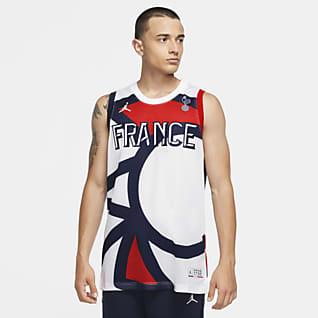 France Jordan Jumpman Men's Jersey