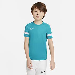 Nike Dri-FIT Academy Camiseta de fútbol de manga corta para niños talla grande