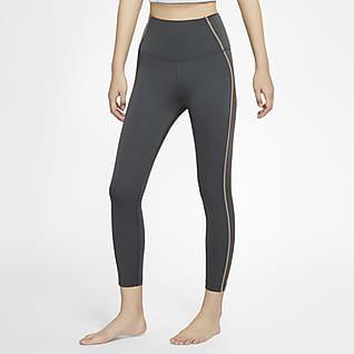 Nike Yoga กางเกงรัดรูปผู้หญิง 7 ส่วน