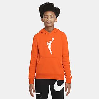 WNBA Essential Dzianinowa bluza z kapturem dla dużych dzieci