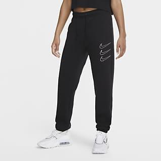 Nike Sportswear med strassdetaljer Fleecebyxor för kvinnor