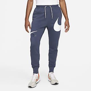 Nike Sportswear Swoosh Halvbørstet bukse til herre