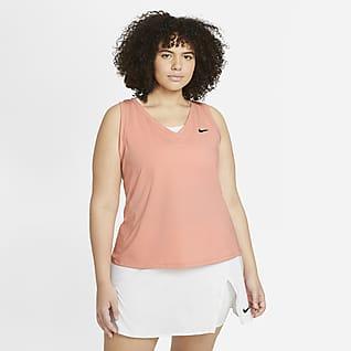 NikeCourt Victory Tennissinglet til dame (Plus Size)