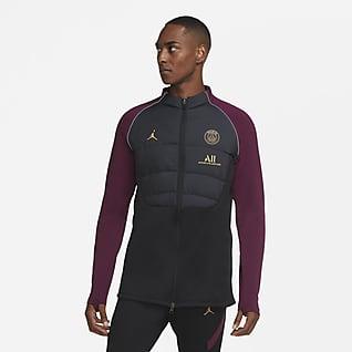 Paris Saint-Germain Strike Męska treningowa kurtka piłkarska z syntetycznym wypełnieniem