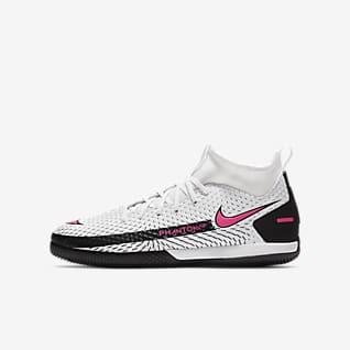 Nike Jr. Phantom GT Academy Dynamic Fit IC Younger/Older Kids' Indoor Court Football Shoe