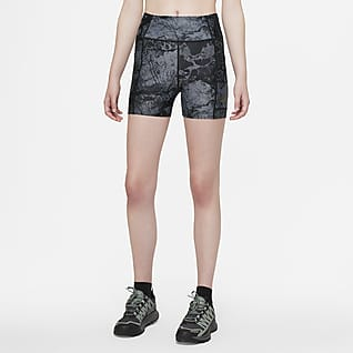 """Nike ACG Dri-FIT ADV """"Crater Lookout"""" Shorts de natación con estampado en toda la prenda para mujer"""