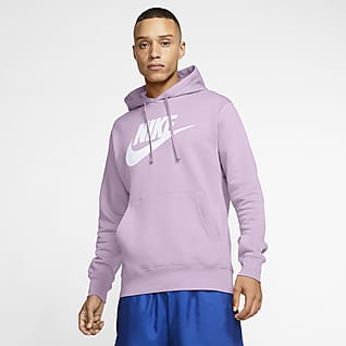 Nike Sportswear Club Fleece Sudadera con capucha sin cierre con estampado