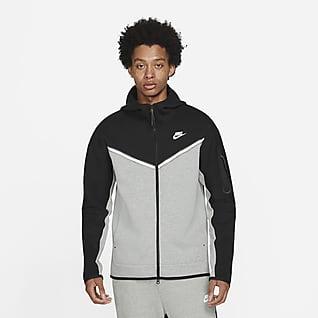 Nike Sportswear Tech Fleece Hættetrøje med lynlås til mænd