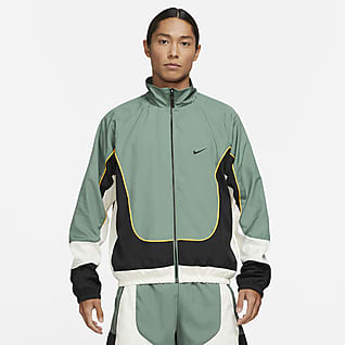 Nike Throwback เสื้อแจ็คเก็ตบาสเก็ตบอลผู้ชาย