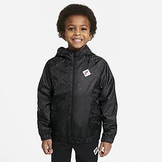 Jordan Hosszú cipzáras kabát kisebb gyerekeknek