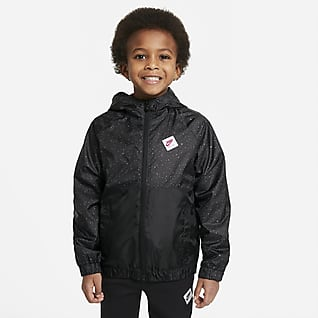 Jordan Jacke mit durchgehendem Reißverschluss für jüngere Kinder