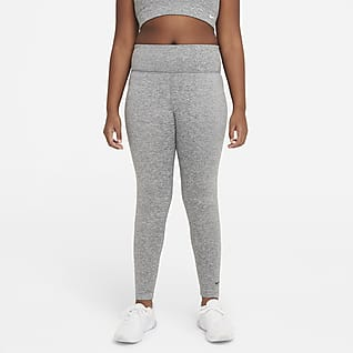 Nike Dri-FIT One Luxe Big Kids' (Girls') High-Rise Leggings (Extended Size)