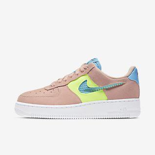 Tênis Nike Air Force 1 TM Preto Pink