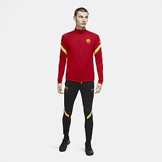 AS Roma Strike Men's Knit Football Tracksuit