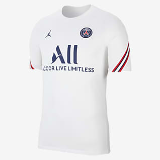 Paris Saint-Germain Strike Home Men's Short-Sleeve Soccer Top