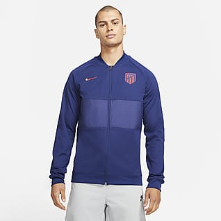 Atlético Madrid Men's Full-Zip Football Tracksuit Jacket