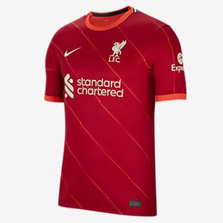 2021/22 赛季利物浦主场球迷版 男子足球球衣