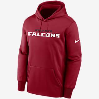 Nike Therma Wordmark (NFL Atlanta Falcons) Men's Pullover Hoodie