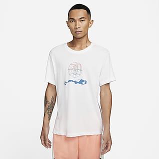 ナイキ Dri-FIT カイリー ロゴ メンズ Tシャツ