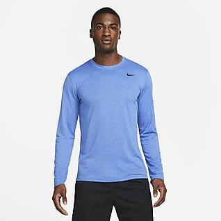 Nike Dri-FIT Playera de entrenamiento de manga larga para hombre
