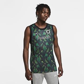 Nigeria Camiseta de básquetbol sin mangas para hombre