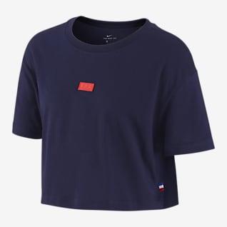 FFF Tee-shirt de football pour Femme