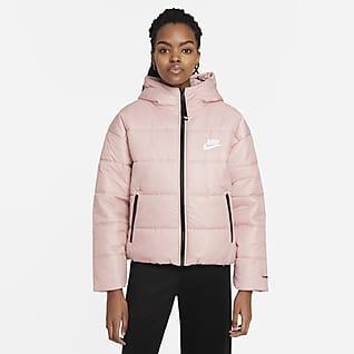 Nike Sportswear Therma-FIT Repel Løbejakke med hætte til kvinder