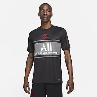 Paris Saint-Germain 2021/22 Stadium Third Nike Dri-FIT-fodboldtrøje til mænd