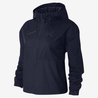 Nike College Windrunner (Michigan) Chamarra para mujer