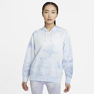 Nike Icon Clash เสื้อเทรนนิ่งมีฮู้ดผู้หญิงแบบสวม
