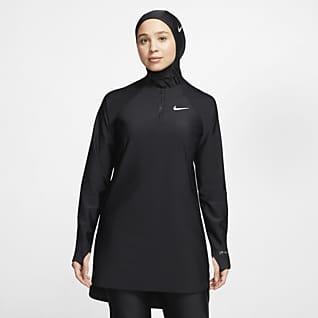 Nike Victory Parte superior de natación de protección completa - Mujer