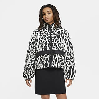 Nike Sportswear Sherpa-Jacke für Damen