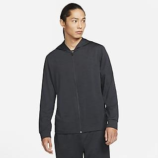 Nike Yoga Dri-FIT 男款全長式拉鍊外套