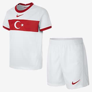 Turcja 2020 (wersja domowa) Strój piłkarski dla małych dzieci
