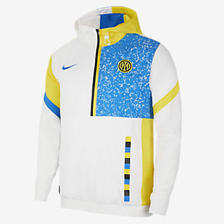 Inter Milan Men's Woven Football Tracksuit Jacket