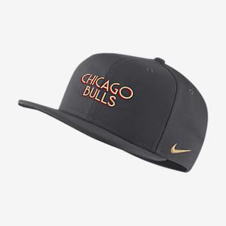 Chicago Bulls City Edition Бейсболка НБА Nike Pro
