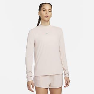 Nike Dri-FIT Run Division Γυναικεία μακρυμάνικη μπλούζα για τρέξιμο