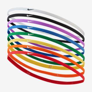 Nike Λεπτά λαστιχάκια μαλλιών (8 τεμάχια)