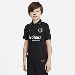 Eintracht Frankfurt 2021/22 Stadium Home Older Kids' Football Shirt