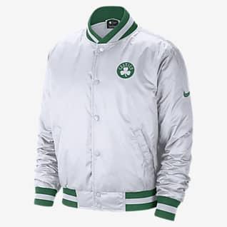 Boston Celtics City Edition Courtside Мужская куртка Nike НБА
